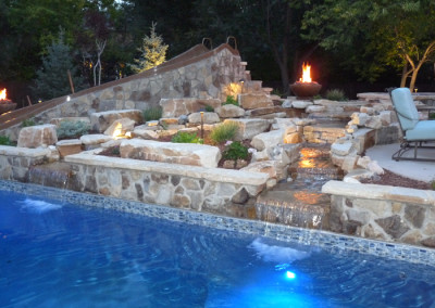 pool-slide-firepit-waterfall